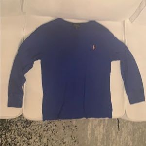 Kids-Boys-polo long sleeve T-shirt